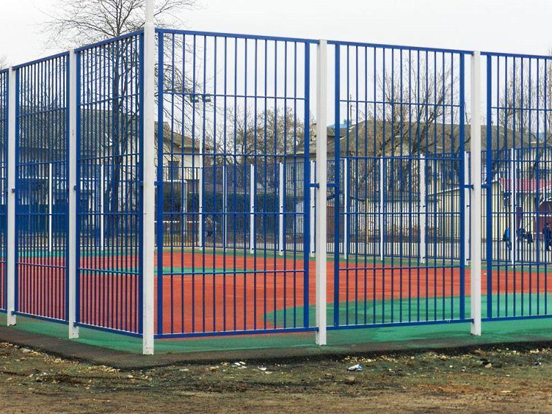 образцы ограждения детских площадок